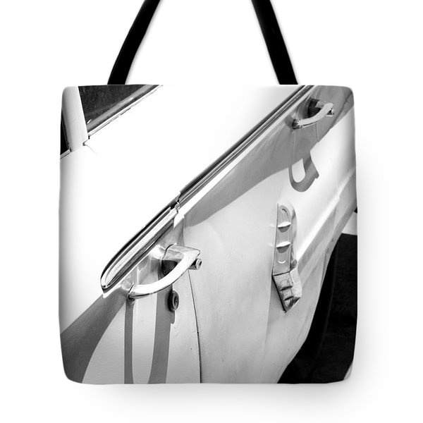 Chevy Biscayne Tote Bag by Amanda Barcon