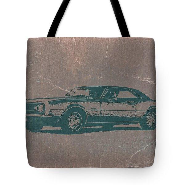 Chevy Camaro Tote Bag by Naxart Studio