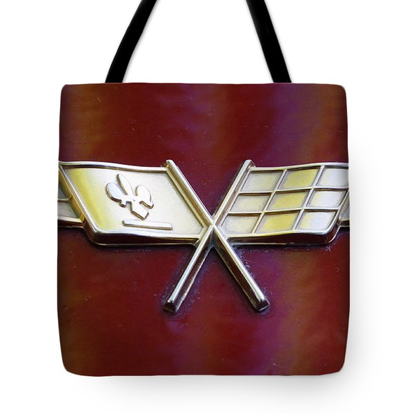 Chevy Corvette Tote Bag