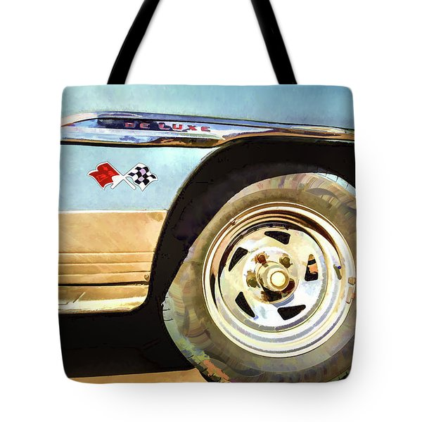 Chevy Deluxe Tote Bag