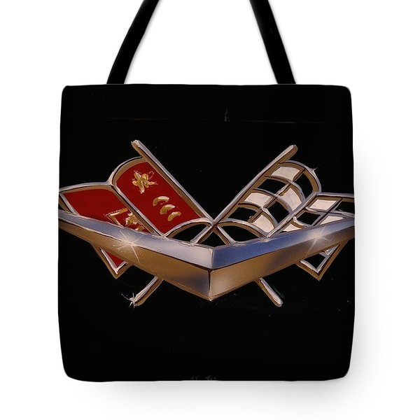 Chevy Flags  Tote Bag