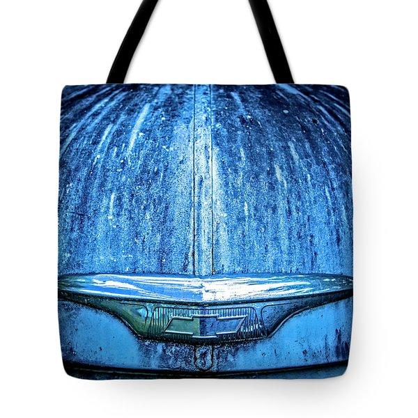Chevy Hood Tote Bag