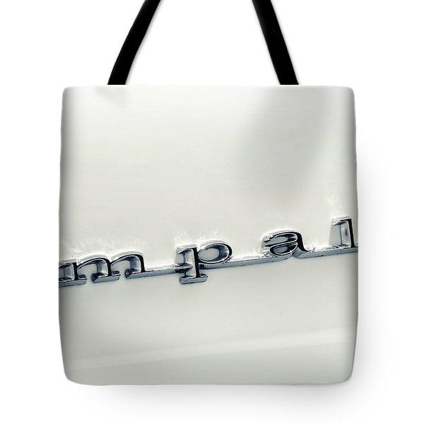 Chevy Impala Tote Bag