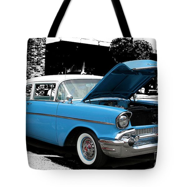Tote Bag featuring the photograph Chevy Love by Victoria Harrington
