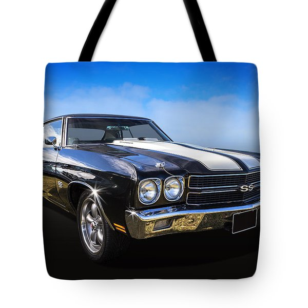 Tote Bag featuring the photograph Chevy Muscle by Keith Hawley
