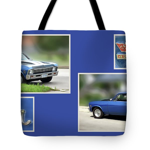 Chevy Nova Horizontal Tote Bag