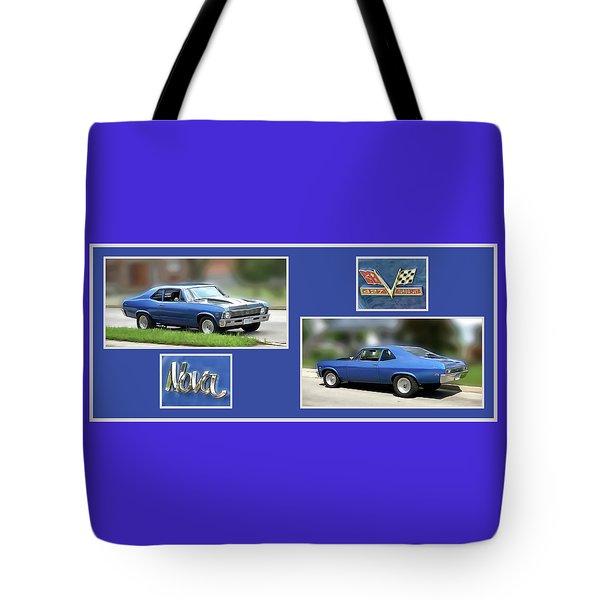 Chevy Nova Horizontal Tote Bag
