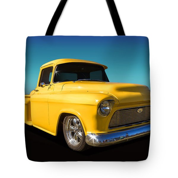 Tote Bag featuring the photograph Chevy Stepside by Keith Hawley
