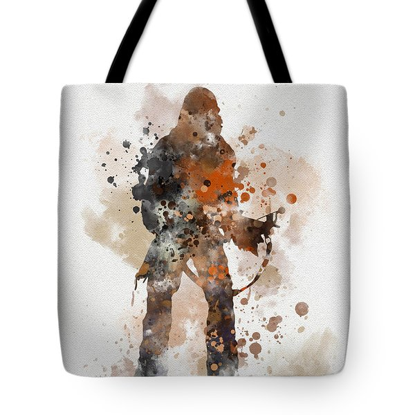 Chewie Tote Bag by Rebecca Jenkins