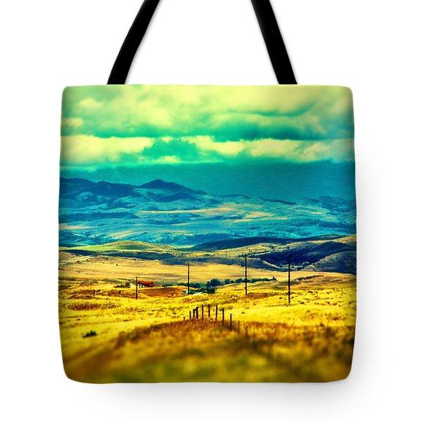 Cheyene Country Tote Bag
