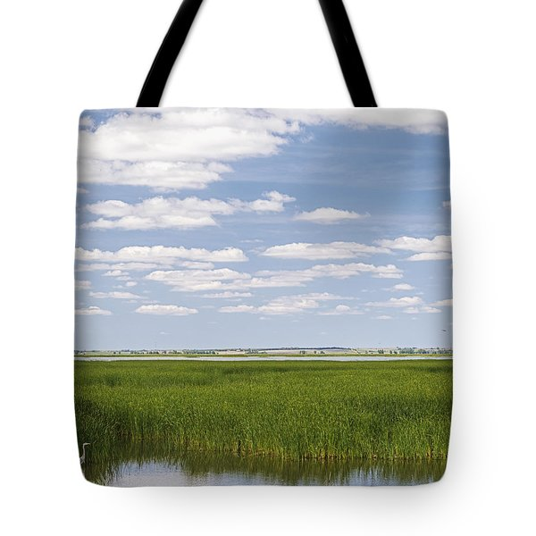 Tote Bag featuring the photograph Cheyenne Bottoms by Rob Graham