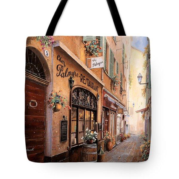 Chez Palmyre  Tote Bag
