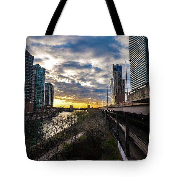 Chi Sunrise 2 Tote Bag