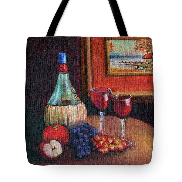 Chianti Still Life Tote Bag