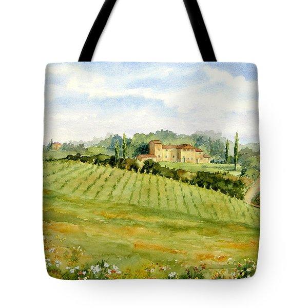 Chianti Villa Tote Bag