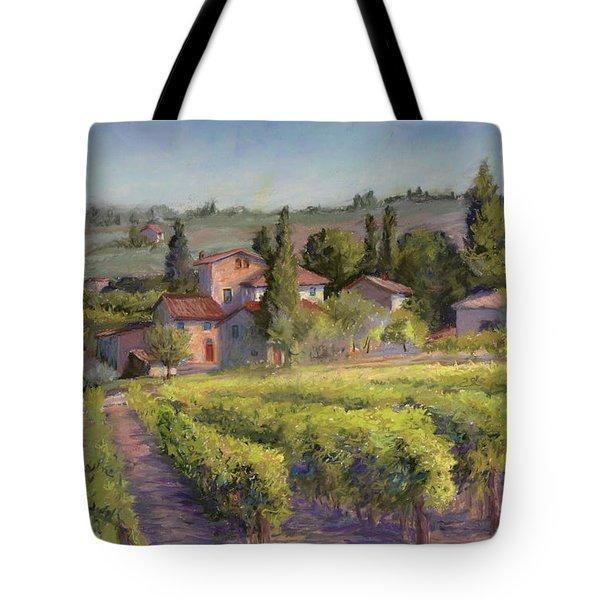 Chianti Vineyard Tote Bag