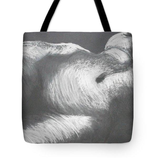 Chiaroscuro - Torso Tote Bag by Carmen Tyrrell