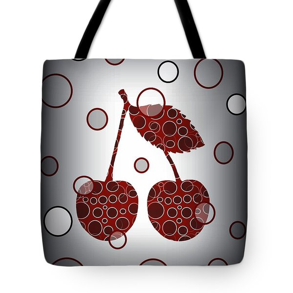 Chic Cherries Tote Bag