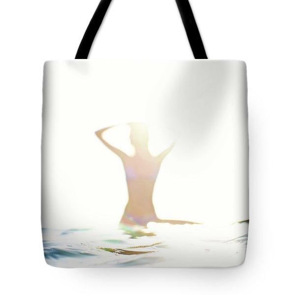 Chica Agua Tote Bag