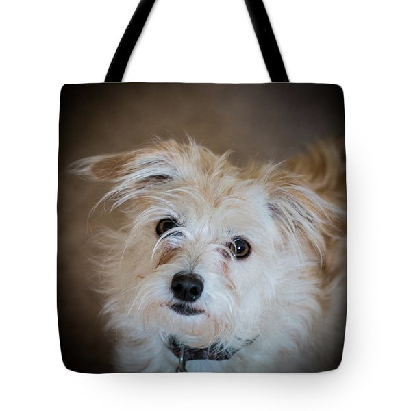 Chica On The Alert Tote Bag
