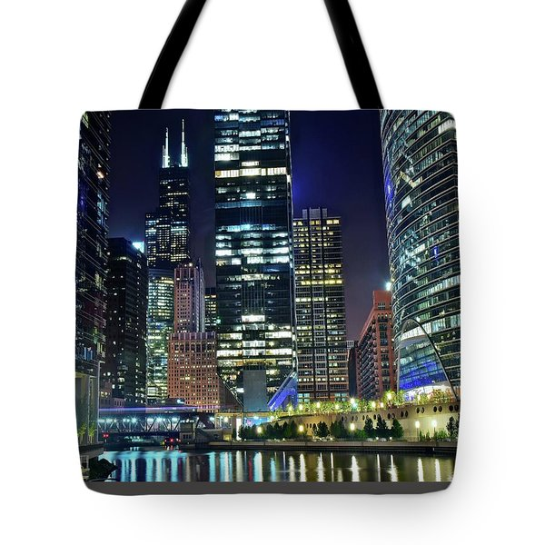 Chicago 2017 Full Moon Tote Bag