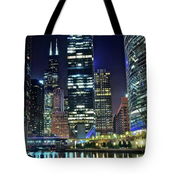Chicago Towers 2017  Tote Bag
