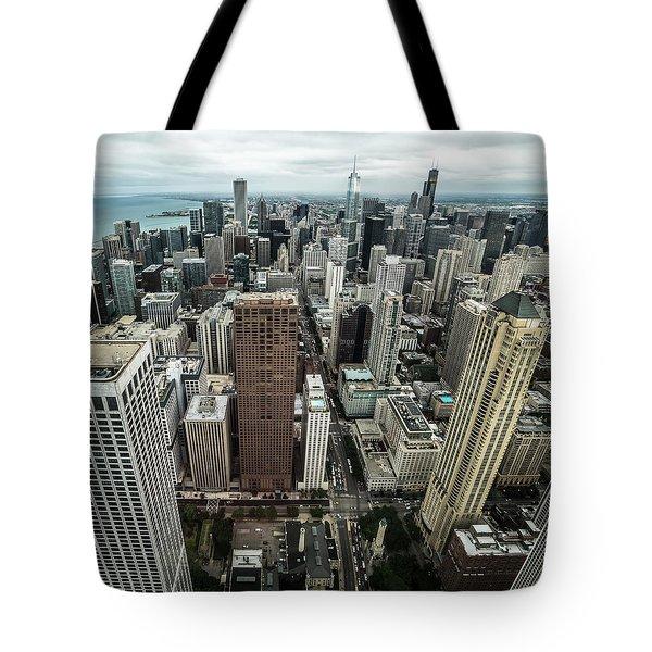 Chicago Aerial Tote Bag