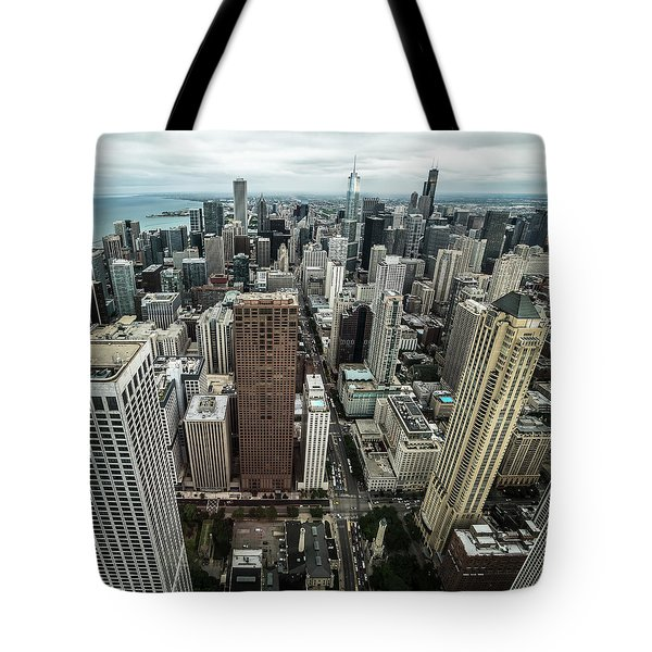 Chicago Aerial Tote Bag