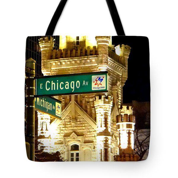 Chicago Avenue  Tote Bag