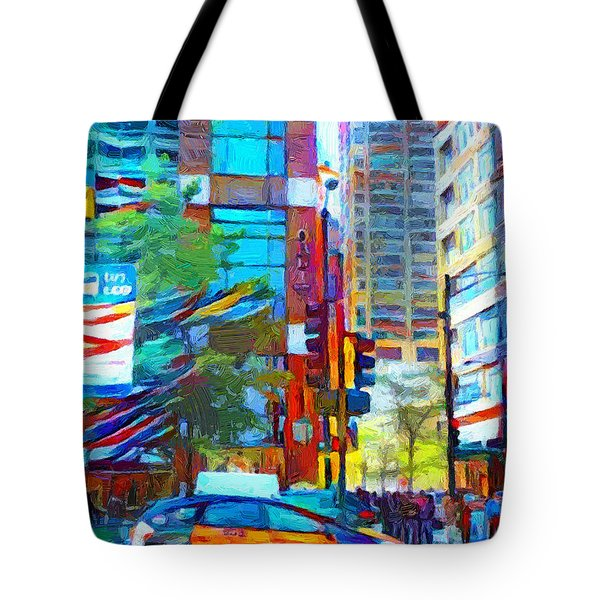 Chicago Colors 1 Tote Bag