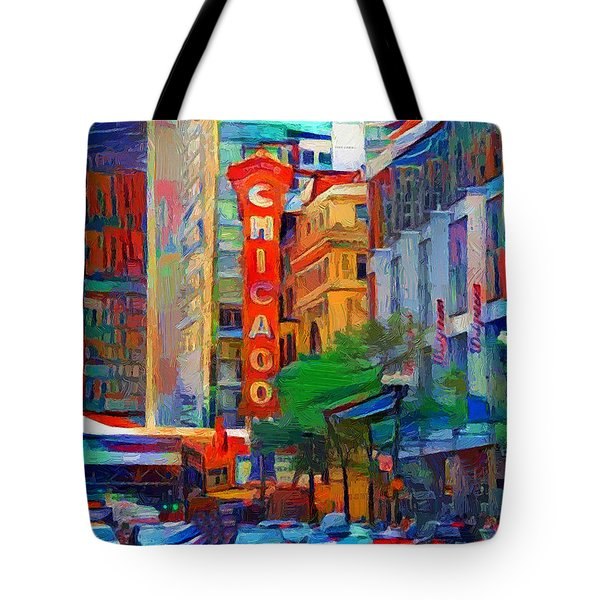 Chicago Colors 3 Tote Bag