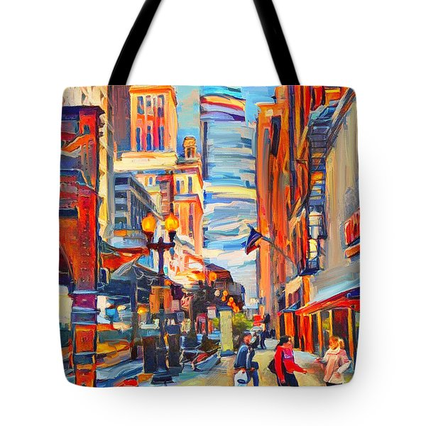 Chicago Colors 4 Tote Bag