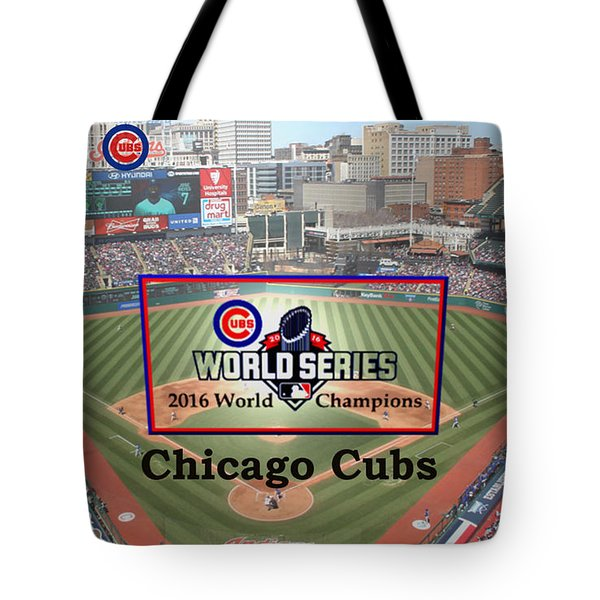 Chicago Cubs - 2016 World Series Champions Tote Bag