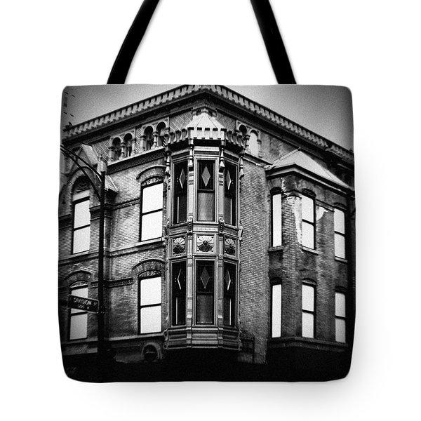 Chicago Historic Corner Tote Bag