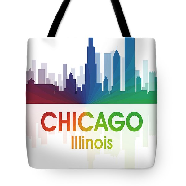 Chicago Il Tote Bag by Angelina Vick