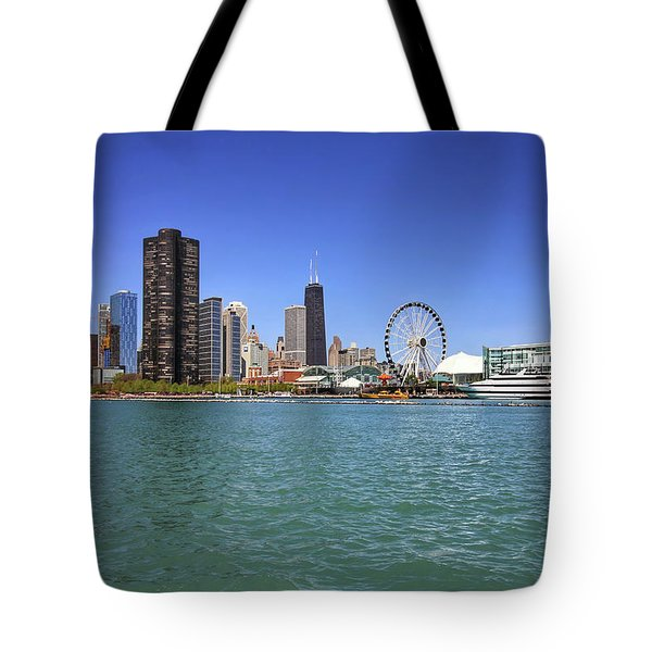 Tote Bag featuring the photograph Chicago by Jackson Pearson