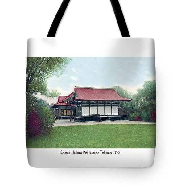 Chicago - Japanese Tea Houses - Jackson Park - 1912 Tote Bag