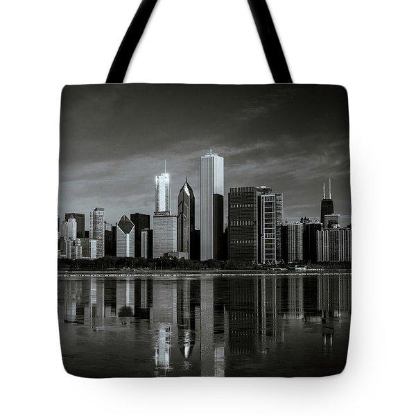 Chicago Lake Front Tote Bag