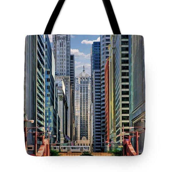 Chicago Lasalle Street Tote Bag