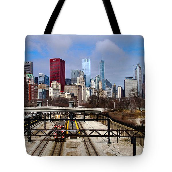 Chicago Metro Tote Bag