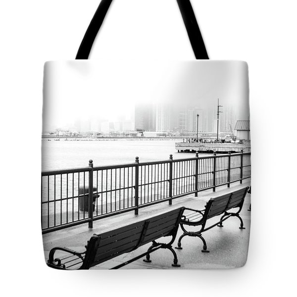 Chicago Navy Pier Tote Bag by Dawn Romine