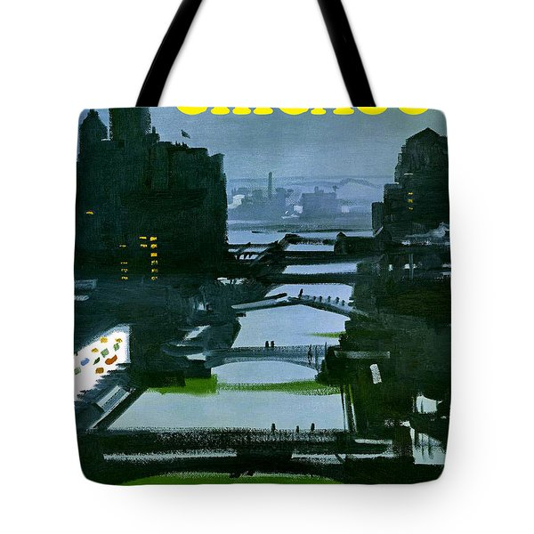 Chicago Night Tote Bag