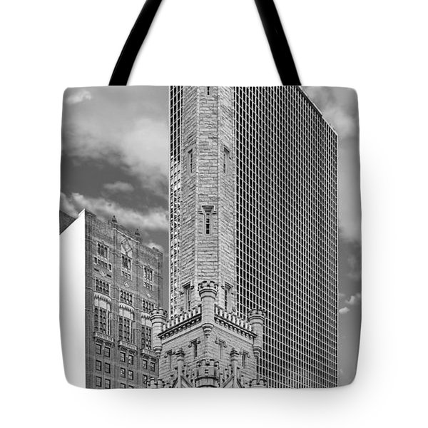 Chicago - Old Water Tower Tote Bag