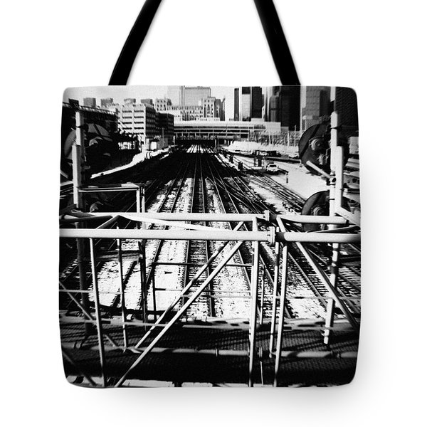 Chicago Railroad Yard Tote Bag