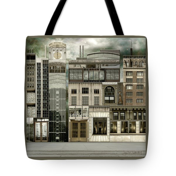 Chicago Reconstruction 2 Tote Bag