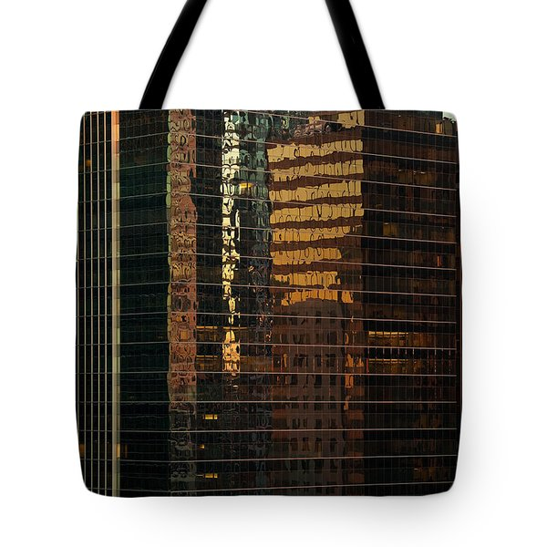 Chicago Reflected Tote Bag