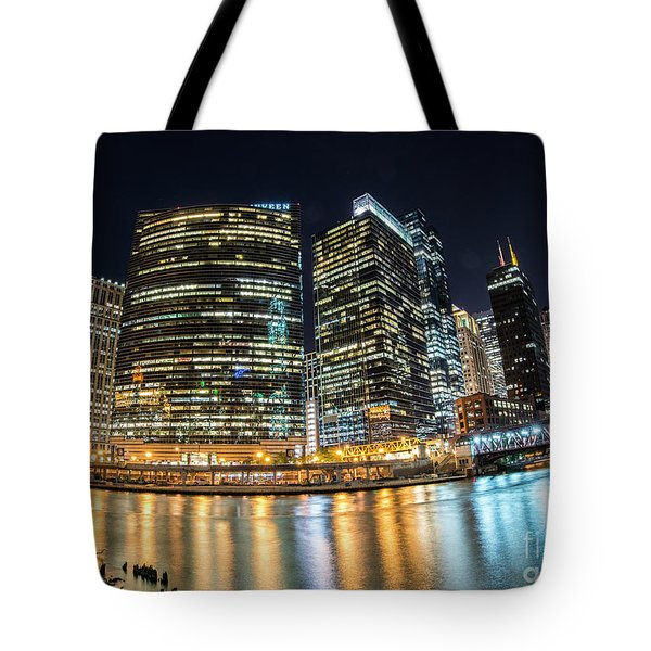 Chicago Reflections Tote Bag