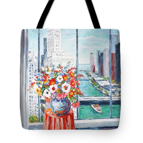 Chicago River Tote Bag