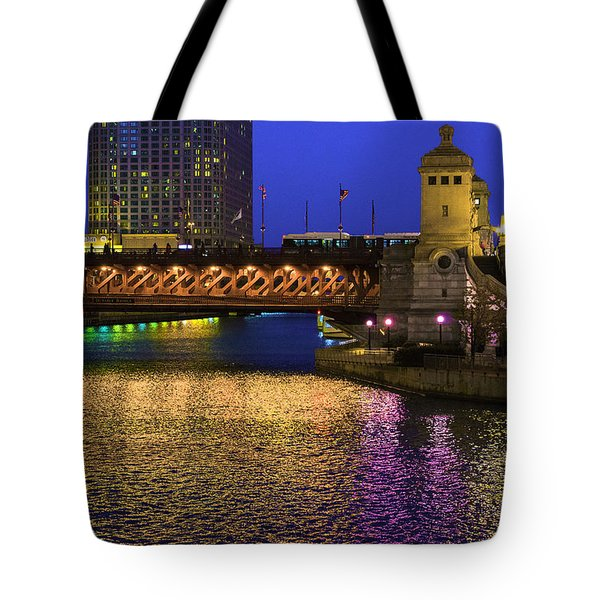 Chicago River Ver2 Tote Bag
