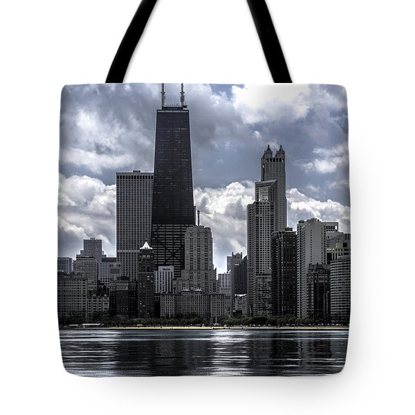 Chicago Skyline Ver3 Tote Bag